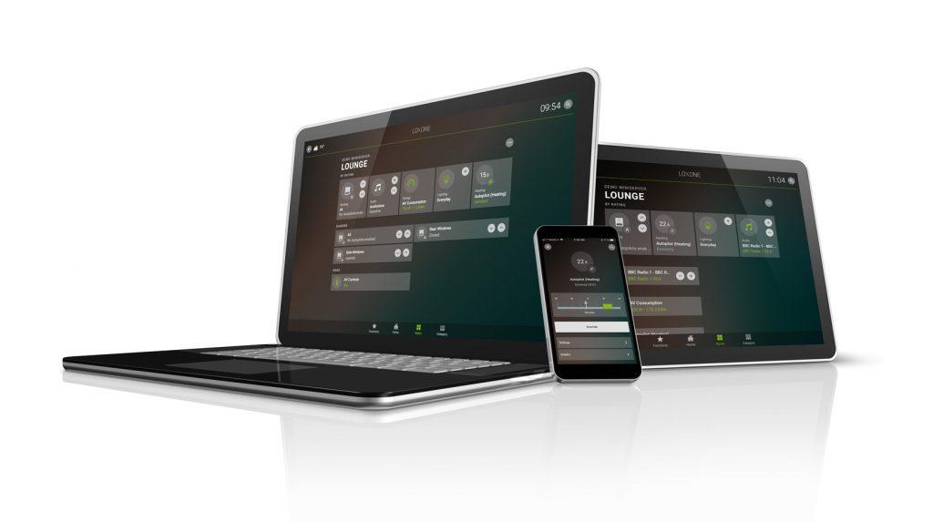 Inteligentní ovládání - PC, tablet, mobil
