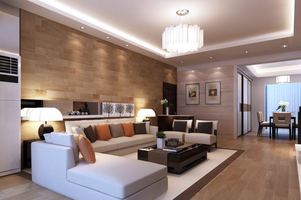 Chytré osvětlení v obýváku
