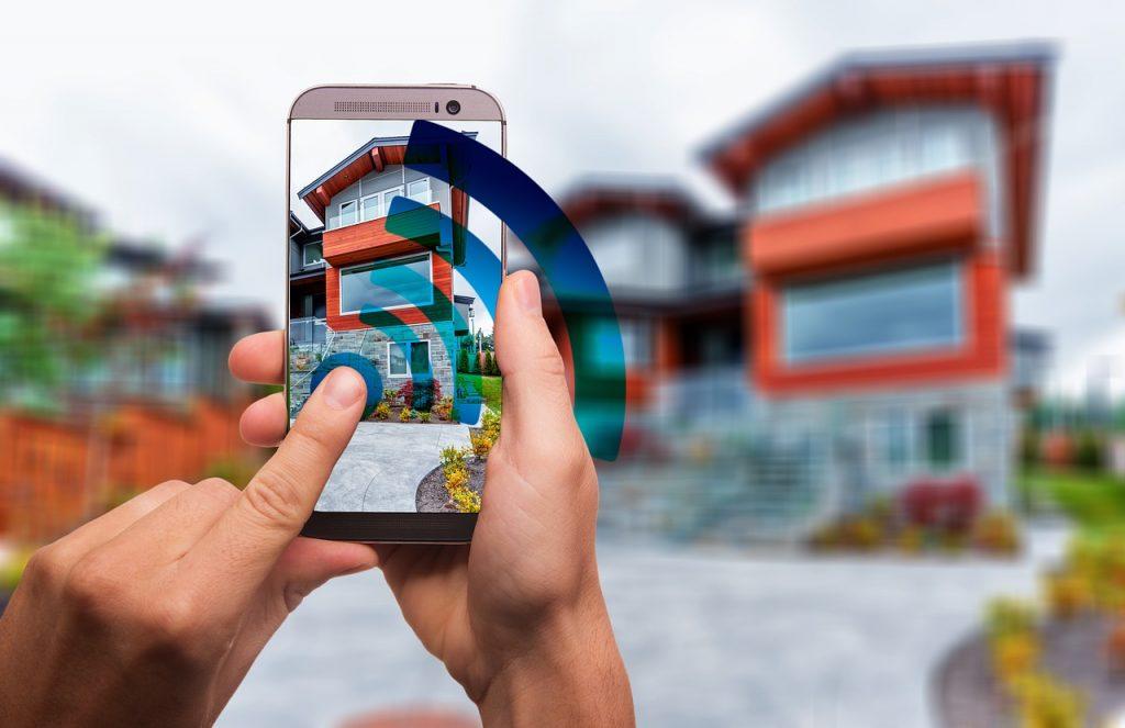 Chytré ovládání domu přes mobil