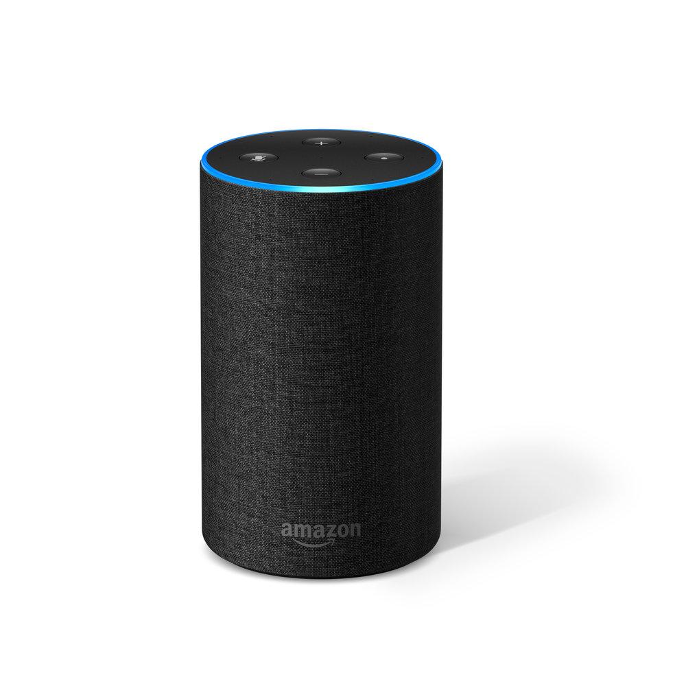 Tmavý hlasový asistent Amazon Alexa