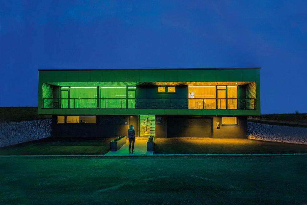 Inteligentní moderní domy