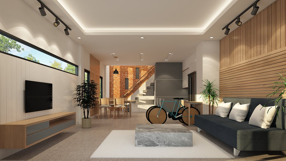 Nová generace chytrých domů – obývák