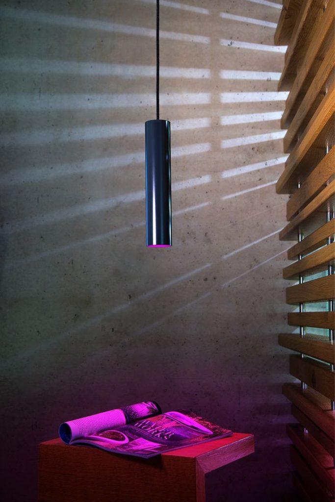 Loxone - fialové osvětlení