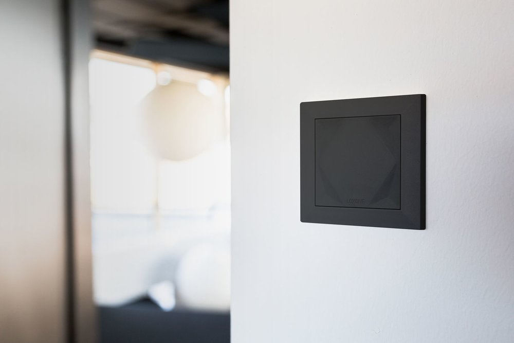 Smart Home a nástěnné tlačítko